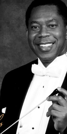 Photo of Conductor Paul-Elliott Cobbs
